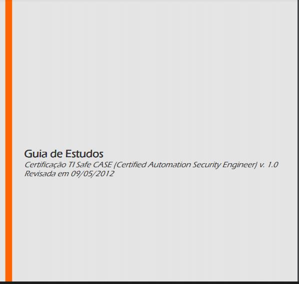 Documento Técnico (TI Safe) – Guia de estudos para o exame