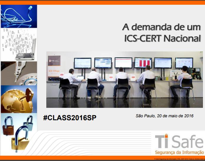 Palestra CLASS (2016) – Leonardo Cardoso (TI Safe)