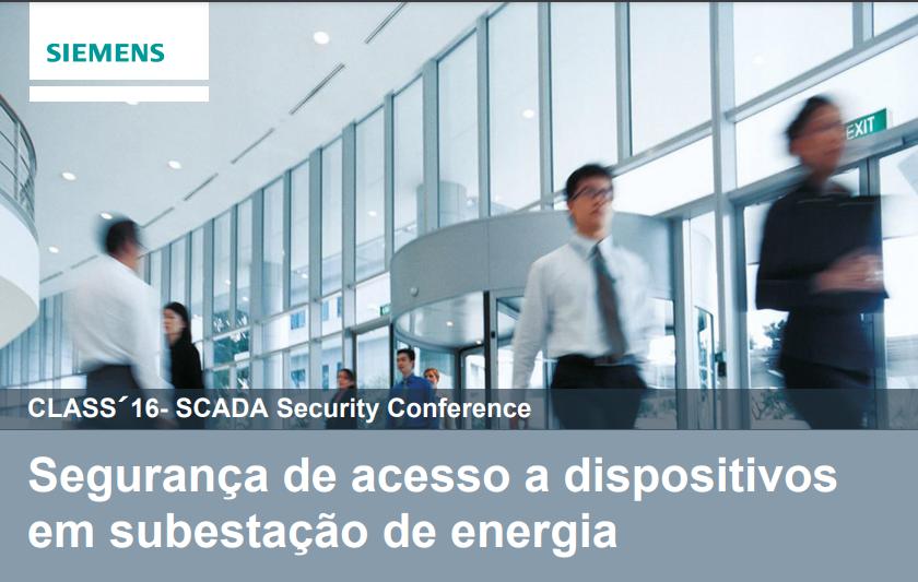 Palestra CLASS (2016) – Vitor Eduardo Lace Maganha (Siemens)