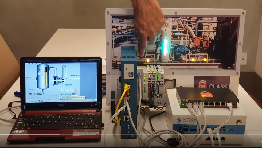 (Demonstração) Hacking do Gasômetro