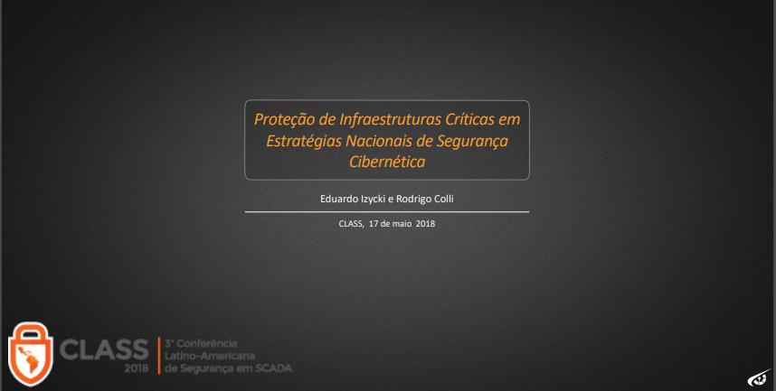 Palestra CLASS (2018) – Eduardo Izycki (GSI)