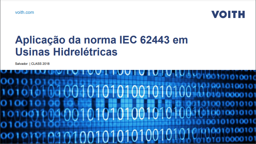 Palestra CLASS (2018) – Jéssica Barbosa Heluany (Voith Digital Solutions)