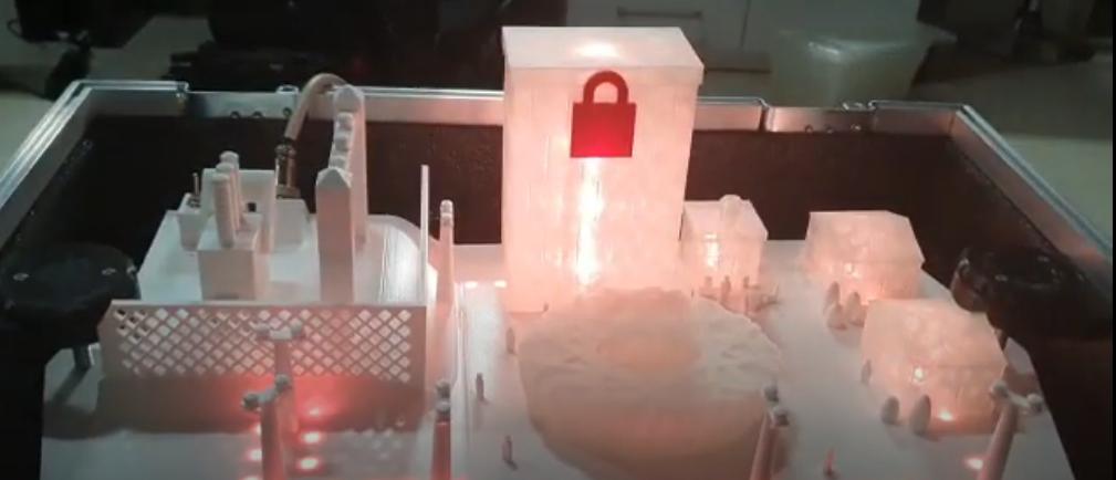 (Demonstração) Simulador de subestação de Energia Elétrica IEC-61850 no centro de P&D da TI Safe