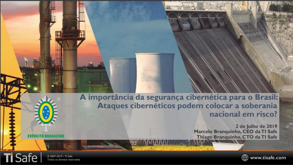 Palestra Evento Guardião Cibernético (2019) – Marcelo Branquinho (TI Safe)